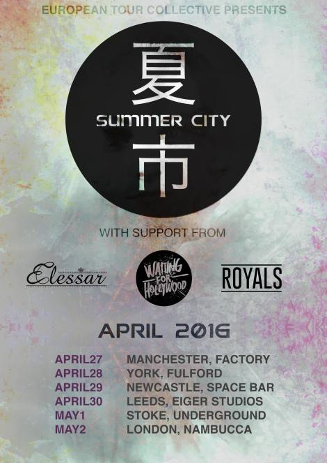 summer city tour