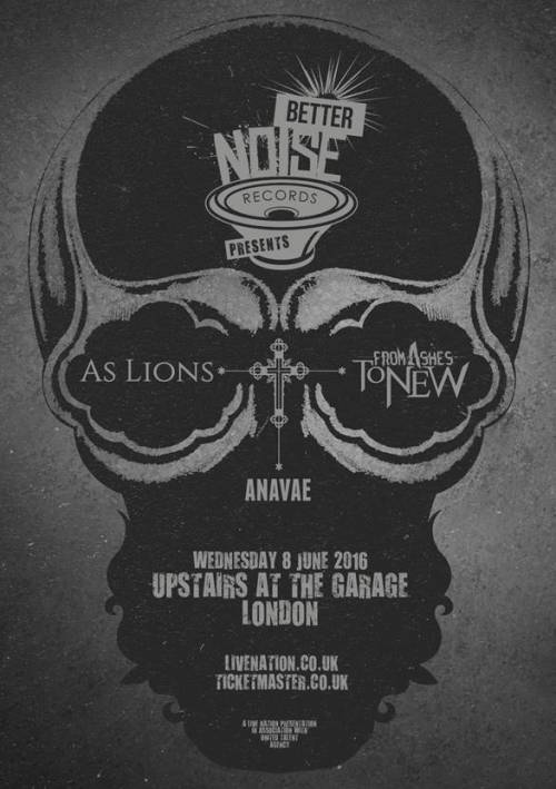 as lions ashes to new anavae poster
