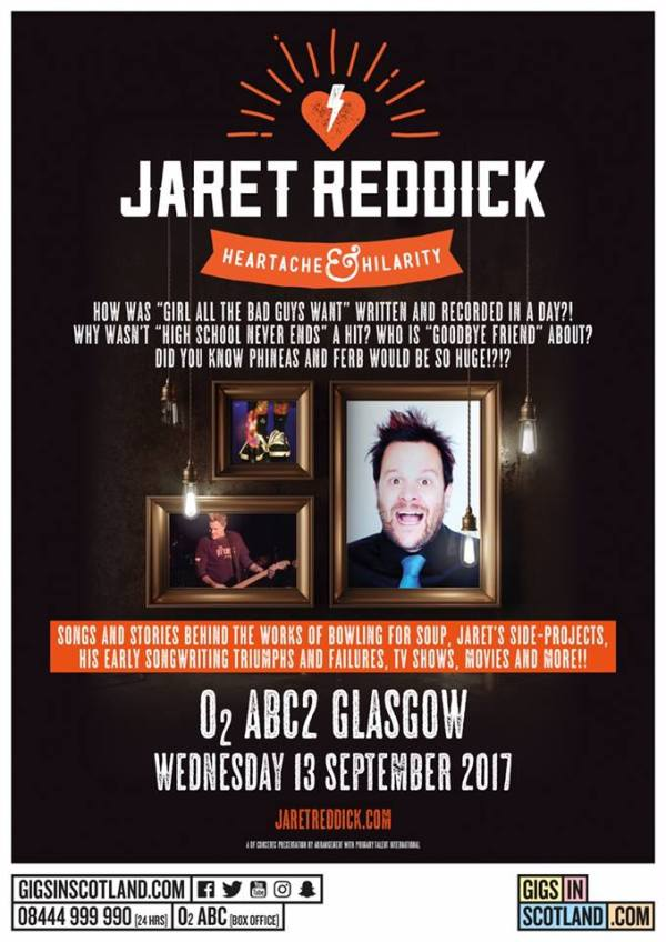 jaret reddick tour